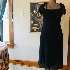 Beautiful Black Flowy Dress